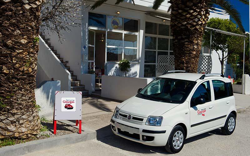 Fiat Panda 1200cc - Milos Car Rental - Giourgas