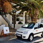 Fiat Panda 4x4 - Milos Car Rental - Giourgas