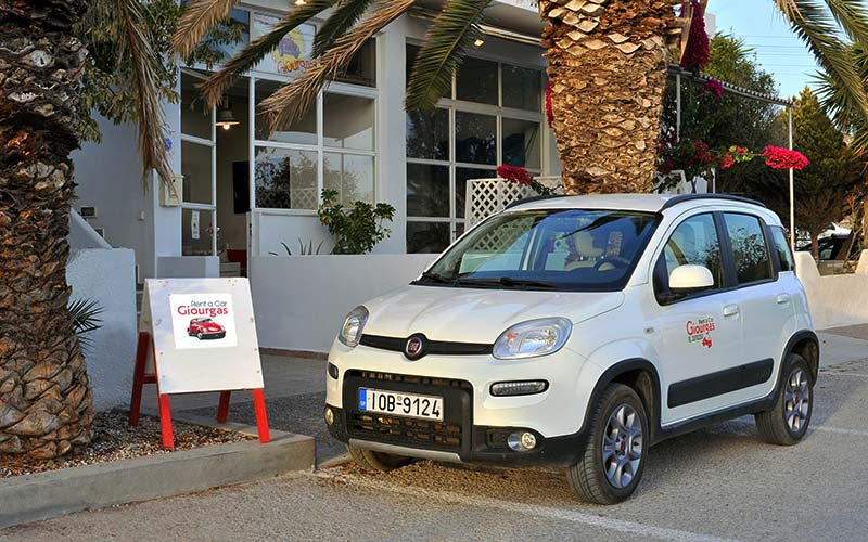 Fiat Panda Last Edition 4x4 1300cc Diesel - Milos Car Rental - Giourgas