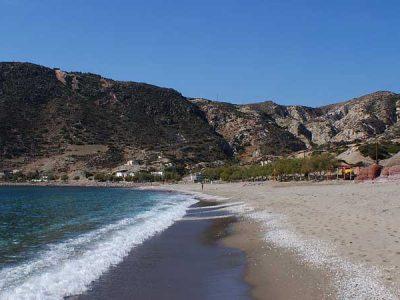 Agia Kiriaki Beach Milos - Giourgas Milos Car Rental