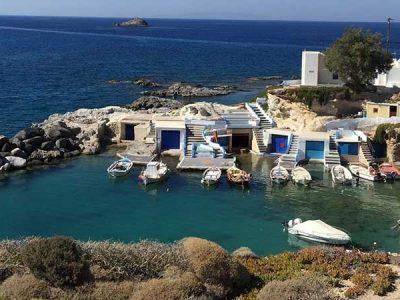 Firopotamos Beach Milos - Giourgas Milos Car Rental