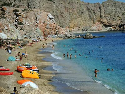 paliochori-beach-milos-car-rental